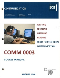 bcit technical writing Single-sourcing and content management are key concepts in technical writing,  concepts which need to be understood and then explained to other stakeholders .